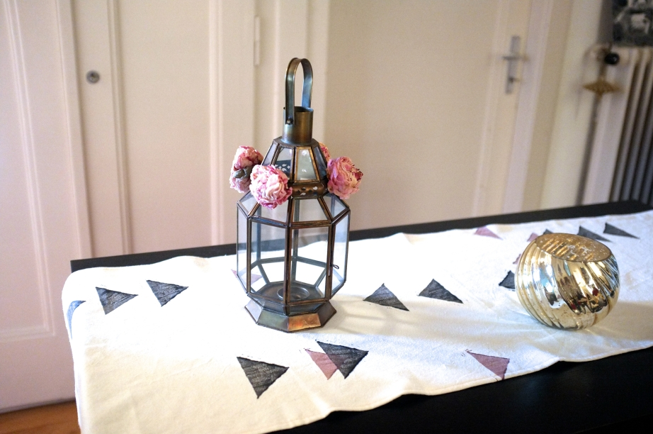 table runner - diy